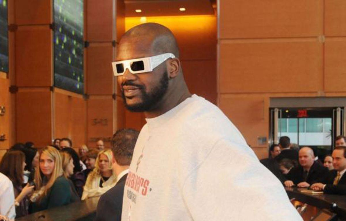 Le basketteur Shaquille O'Neal au Comcast Building de Philadelphie, le 17 décembre 2009. – HD1/WENN.COM/SIPA
