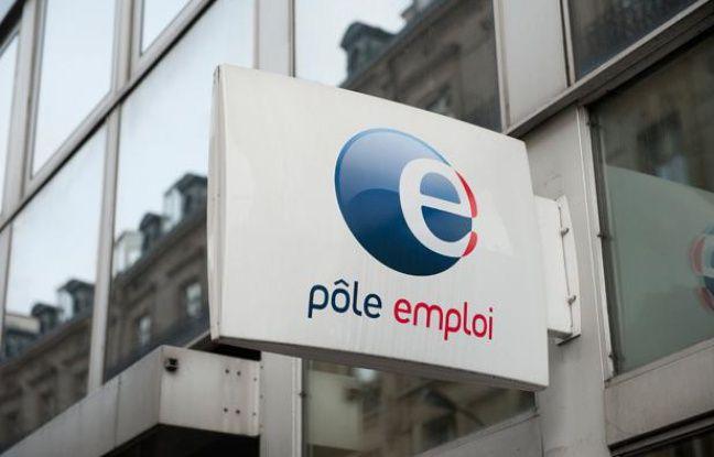 Une agence de pôle emploi à Paris.