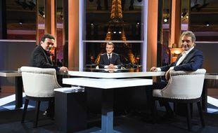 Edwy Plenel et Jean-Jacques Bourdin ont eu un face à face musclé avec le président Emmanuel Macron.
