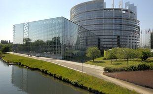 Réalisés en 2013 dans le plus vieux bâtiment du Parlement européen, les travaux s'étaient poursuivi deux semaines malgré la suspicion de présence d'amiante. (Archives)