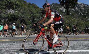 Samy Sanchez sur le Tour de France