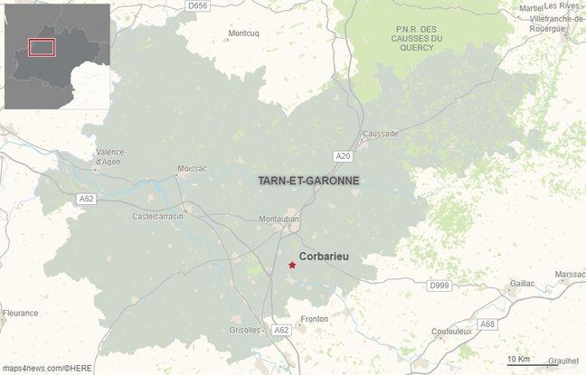La commune de Corbarieu dans le Tarn-et-Garonne.