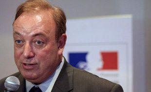 Marc-Philippe Daubresse, le ministre de la Jeunesse et des Solidarités actives, le 26 mai 2010 à Paris.
