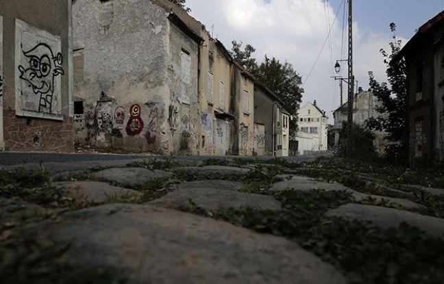 La rue principale du Vieux-Goussainville.