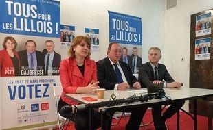 Marc-Philippe Daubresse, candidat (LR) aux municipales à Lille.