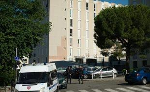 Vue en date du 15 juin 2015 de La Castellane à Marseille