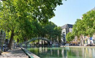 A compter de ce lundi et pendant trois mois, le canal Saint-Martin sera vidé de son eau, le temps de réaliser un grand nettoyage.