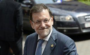 Le Premier ministre espagnol, Mariano Rajoy, le 25 juin 2015 à Bruxelles