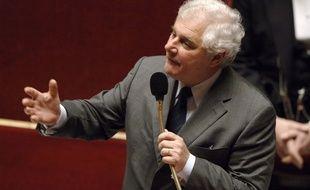 Pascal Clément à l'Assemblée nationale en 2006. (archives)