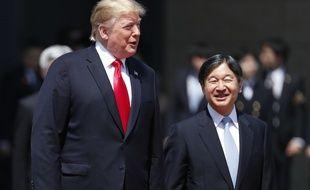 Le président américain Donald Trump a rencontré le nouvel empereur du Japon Naruhito le 27 mai 2019.