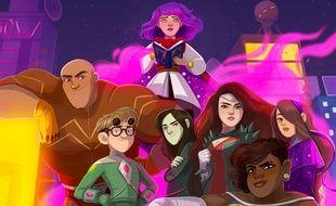 «Superfreaks», la BD de Margaux Saltel, Pierrick Colinet et Elsa Charretier raconte l'histoire de jeunes sidekicks qui doivent remplacer les héros adultes.