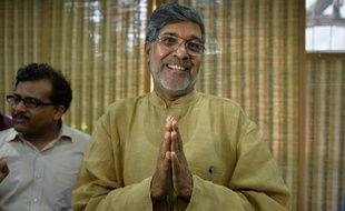 Prix Nobel de la Paix, l'Indien Kailash Satyarthi