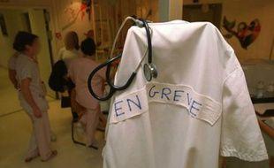 Grève à l'hôpital.