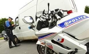 Deux policiers agressés lors d'un contrôle routier sur l'A55 entre Marseille et Martigues.
