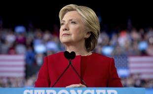 Hillary Clinton à Raleigh le 8 novembre 2016