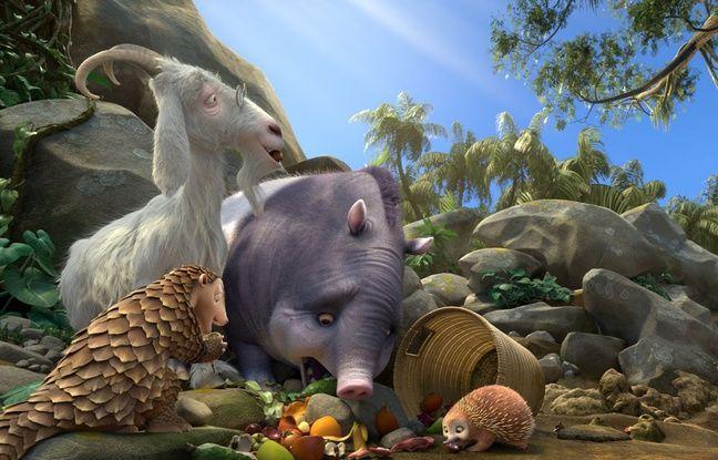 Le pangolin, le bouc et le tapir de Robinson Crusoé