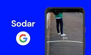 « Sodar » fonctionne sur les smartphones Android