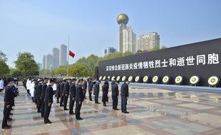 La Chine a rendu hommage, ce samedi 4 avril au matin, aux personnes mortes du coronavirus