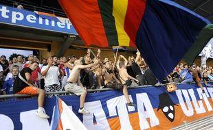 Supporters de Montpellier