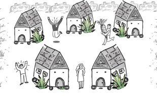 Le projet de «tiny houses» de la Chtite maison solidaire.