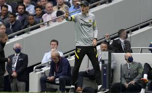 Thomas Tuchel lors de la victoire de Chelsea sur la pelouse de Tottenham (0-3), le 19 septembre 2021.