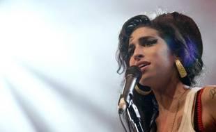 Amy Winehouse en concert lors des Eurockéennes de Belfort, le 29 juin 2007