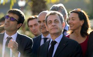Nicolas Sarkozy en visite au zoo de Beauval le 22 novembre 2017.
