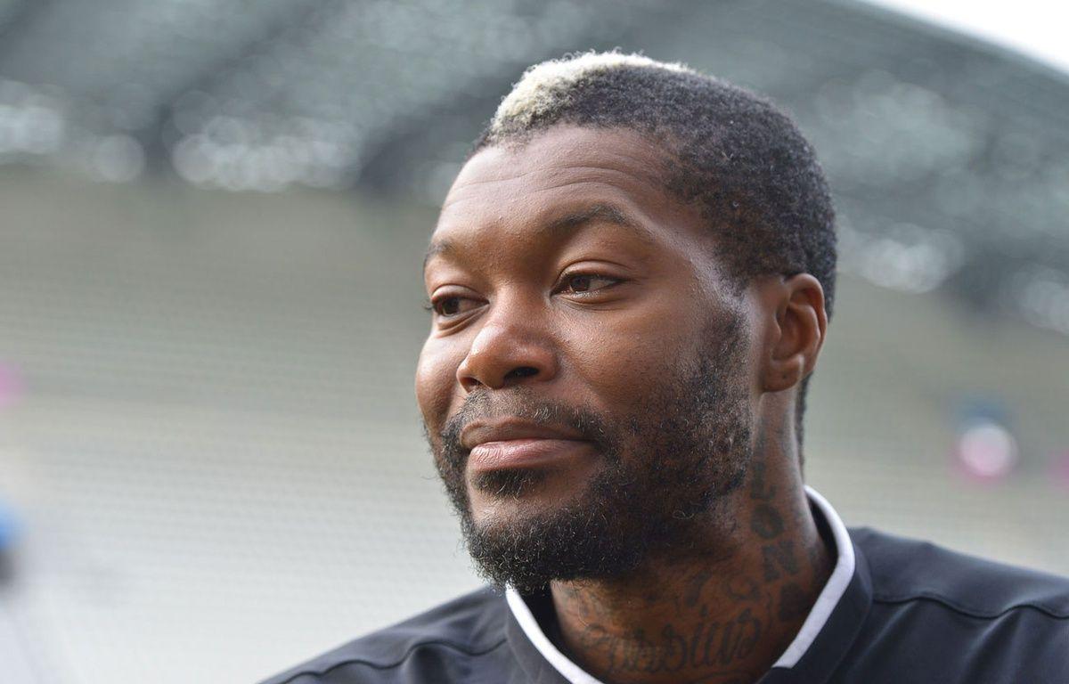 Djibril Cissé le 21 octobre 2015. – HARSIN ISABELLE/SIPA