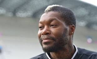 Djibril Cissé le 21 octobre 2015.