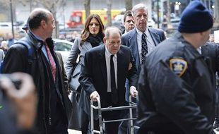 Le producteur déchu Harvey Weinstein