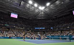 Serena Williams à l'US Open, le 5 septembre 2019.