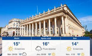 Météo Bordeaux: Prévisions du mardi 28 septembre 2021