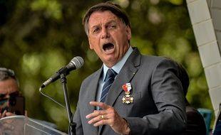 Le président d'extrême droite brésilien, Jair Bolsonaro.