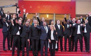 L'équipe de « Hors Normes » au Festival de Cannes en 2019 (Illustration)