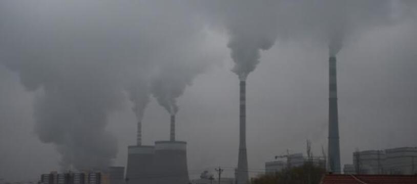 Une centrale électrique au charbon à Datong, en Chine, le 19 novembre 2015