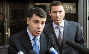 Tony Musulin devant la Cour d'appel de Lyon en 2010.