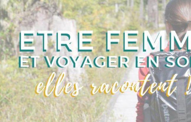 Visuel de la conférence-atelier autour du voyage féminin en solitaire