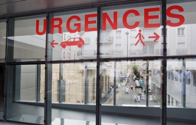 Les urgences d'un hôpital parisien.