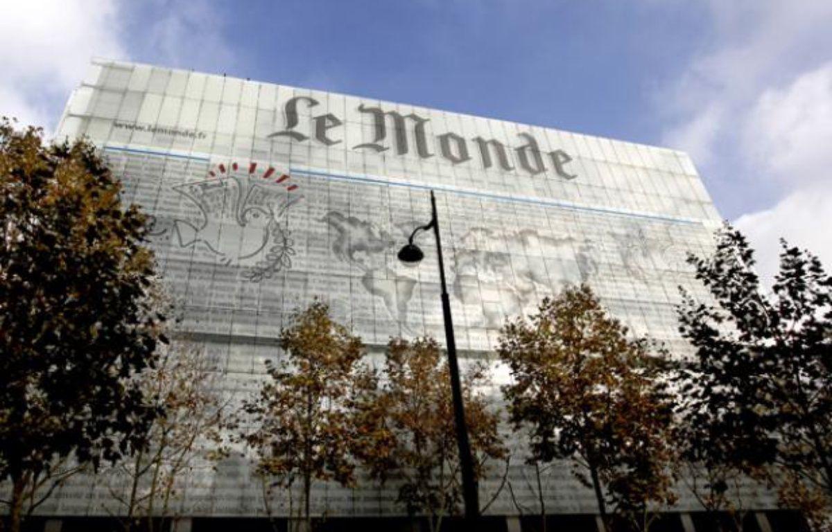 Les locaux du Monde à Paris. – REUTERS/Charles Platiau