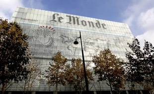 Les locaux du Monde à Paris.