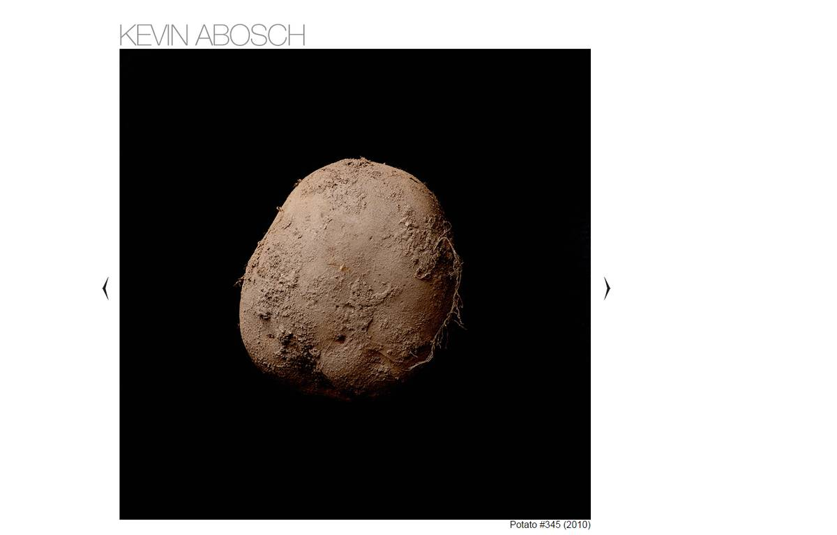 Capture d'écran du cliché de kevin abosch vendu à un  – DR