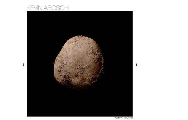 Capture d'écran du cliché de kevin abosch vendu à un