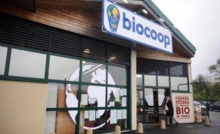 Un magasin Biocoop, le 18 mai 2012 à Quimper