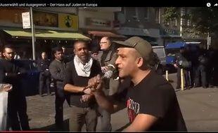 Image tirée du documentaire Les nouveaux visages de l'antisémitisme