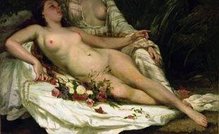 «Les Baigneuses» de Gustave Courbet