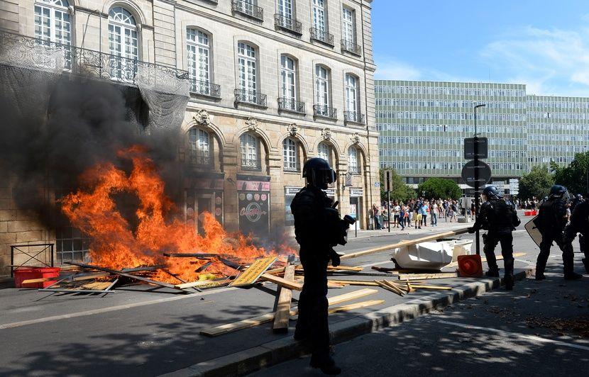Affaire Steve Maia Caniço: Huit mois ferme pour avoir blessé un policier pendant une manif à Nantes
