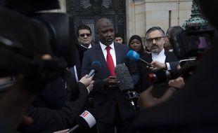 Le ministre gambien de la Justice Abubacarr Tambadou, le 23 janvier 2020.
