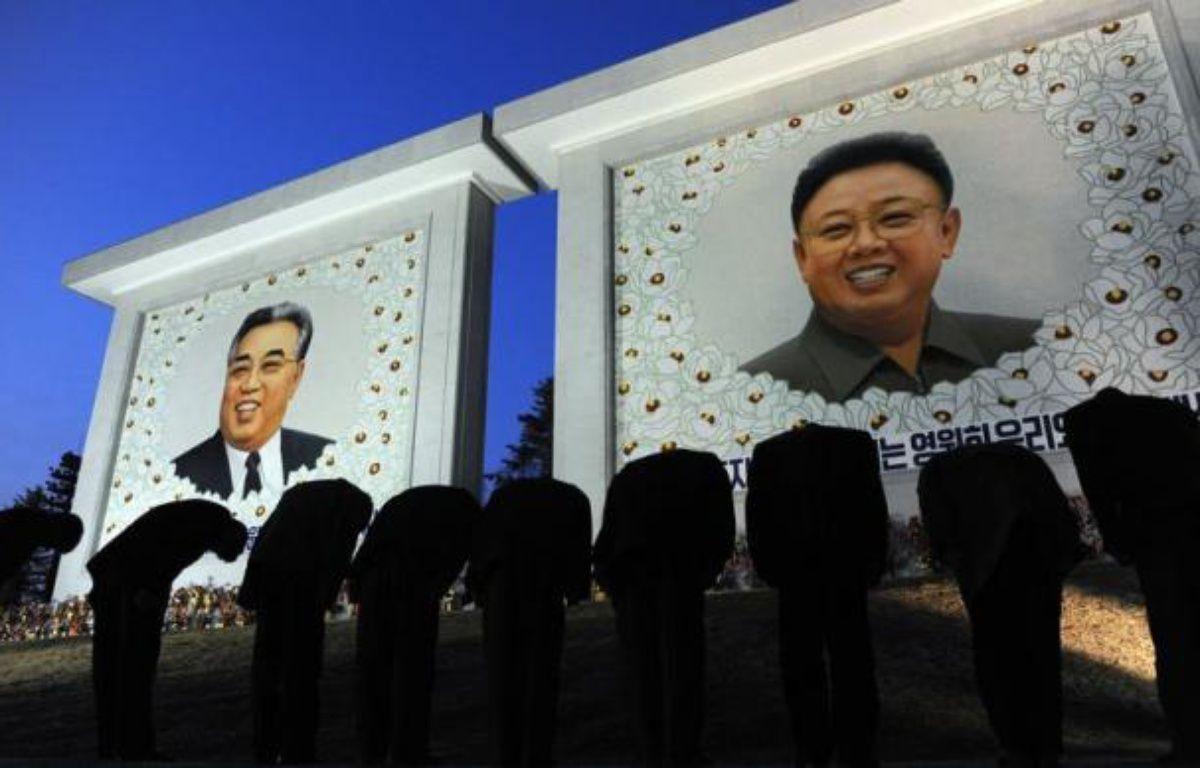 Pyongyang, la capitale nord-coréenne, se fait belle pour célébrer l'arrivée au pouvoir de Kim Jong-Un, âgé de moins de 3O ans, à l'occasion du centième anniversaire dimanche de son grand-père Kim Il-Sung, héros fondateur de la République populaire démocratique de Corée. – Pedro Ugarte afp.com
