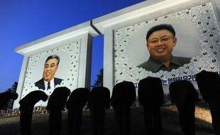 Pyongyang, la capitale nord-coréenne, se fait belle pour célébrer l'arrivée au pouvoir de Kim Jong-Un, âgé de moins de 3O ans, à l'occasion du centième anniversaire dimanche de son grand-père Kim Il-Sung, héros fondateur de la République populaire démocratique de Corée.