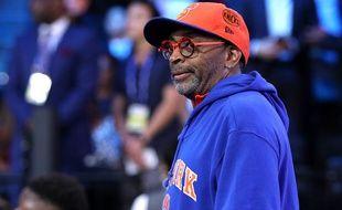 Spike Lee, fan inconditionnel des New York Knicks.